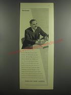 1953 Barclays Bank Ad - The Manager