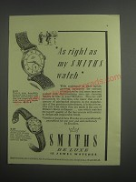 1953 Smiths Watches Advertisement - A.211 and B.207