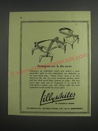 1953 Lillywhites Crampons Ad - Crampons are in the news