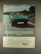 1977 MG Midget Car Ad - Someday You'll Settle Down!!