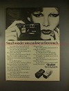1977 Rollei A110 and E110 Camera Ad - Small Wonder!!