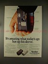 1977 Rollei A110 and E110 Camera Ad - Today's Spy!!