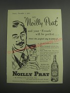 1953 Noilly Prat Vermouth Advertisement