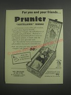 1953 Prunier Hostellerie Cognac Ad - For you and your friends