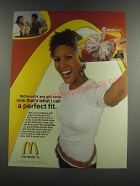 2005 McDonald's Arch Card Ad - McDonald's and gift cards