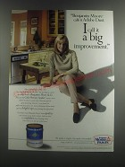 2001 Benjamin Moore Paints Ad - Benjamin Moore calls it Adobe Dust