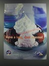 2001 Kraft Cool Whip Ad - Have a long, cool summer
