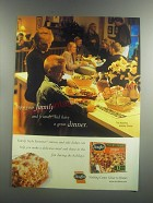 2000 Stouffer's Family Style Favorites Lasagna Ad - Enjoy your family