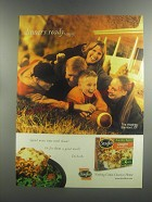 1999 Stouffer's Lasagna Ad - Dinner's ready. Enjoy