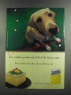 1999 Domino Sugar Ad - You couldn't predict who'd find the Easter eggs
