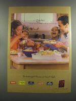 1999 Kraft Foods Ad - We get you to the table quicker so you have time to fill