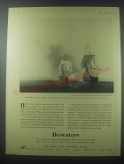 1954 Bowaters Paper Ad - Anson's Centurion and Treasure Ship Cavadonga