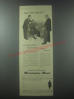 1954 Remington Rand Foremost Accountancy Ad - For new ideas