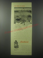 1954 Lentheric After Shave lotion Ad - Le Man's finest aid to quiet, perfect