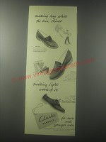 1954 Clarks Shoes Advertisement - Picador, Vacator and Gaylord