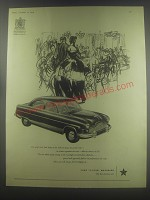 1954 Ford Zephyr 6 Car Ad - The people who lend lustre to the Salle des Jeux