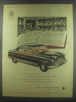 1954 Ford Zephyr 6 Car Ad - Those who help to make an occasion great