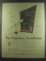 1954 Ford Motor Company Ad - The Dagenham Constellation