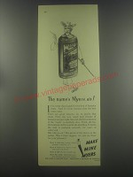 1954 Myers Rum Ad - The name's Myers, sir!