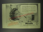 1954 BTH Mazda Lamps Ad - We've got our lighting taped