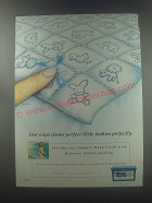 1998 Pampers Baby Fresh Wipes Ad - Our wipe cleans perfect little tushies