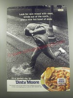 1997 Dinty Moore Beef Stew Advertisement - Look for rain mixed with sleet
