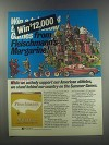 1980 Fleischmann's Margarine Ad - We actively support our American Athletes