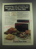 1980 Rival Convection oven Advertisement - Less Energy