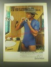 1980 BVD Underwear Ad - BVD. The great american fit for the great american male