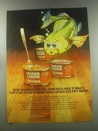 1978 Hormel Tender Chunk chicken and turkey Advertisement