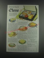 1955 American Dairy Association Ad - Anyone on your list will enjoy a gift