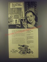 1946 Fuller Paints Ad - Now-my 3 biggest redecoration problems solved