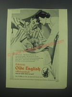 1954 Chivers Old English Marmalade Ad - No fool he