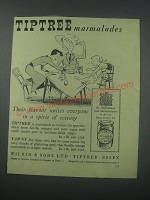 1954 Tiptree Marmalades Ad - Their flavour unites everyone in a spirit