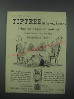 1954 Tiptree Marmalades Ad - Tiptree marmalades bring an exquisite note