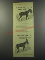 1955 Powers-Samas Ad - Mechanical, Electro-Mechanical, Electronic Accounting
