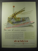 1955 Shell Dieldrin Ad - The case of Anopheles sundaicus
