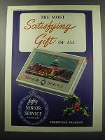 1955 Senior Service Cigarettes Ad - The most satisfying gift of all