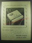 1955 Sobranie Virginia Cigarettes Ad - Take a Sobranie Virginia