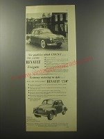 1955 Renault Fregate and 750 Ad - Six qualities which count