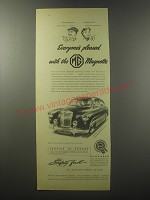 1955 MG Magnette Advertisement - Everyone's pleased