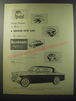 1955 Sunbeam Rapier Ad - From Bonnet to boot.. A superb new car
