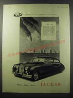 1955 Jaguar Car Ad - Background to Jaguar breeding Florida