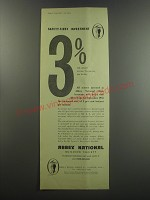 1955 Abbey National Building society Advertisement - Safety-first investment