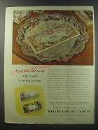 1955 Midland Bank Gift Cheques Ad - It's a new and lovely way to give a money