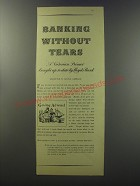 1955 Lloyds Bank Advertisement