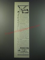 1930 Norfolk Portsmouth Chamber of Commerce Ad - Norfolk Bound