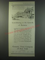 1930 Guaranty Trust Company of New York Ad - Contributing to the Growth