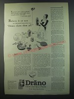 1930 Drano Drain Cleaner Ad - Believe it or not ten thousand housewives say