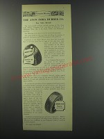 1957 Avon H-M Tires Ad - The Avon India Rubber Co.